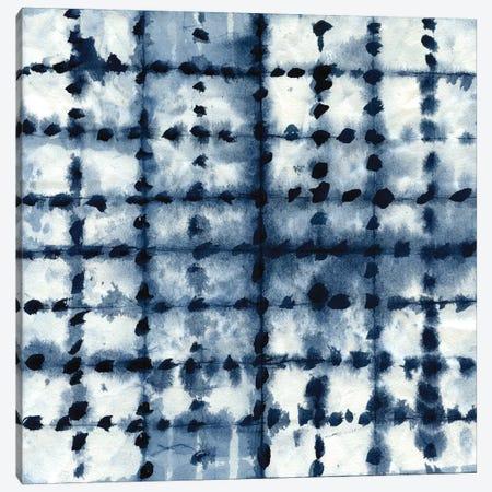 Shibori Patchwork Canvas Print #CRO113} by Carol Robinson Canvas Art Print