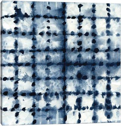 Shibori Patchwork Canvas Print #CRO113