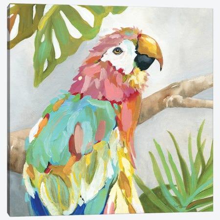 Tropical Plumage 3-Piece Canvas #CRO1143} by Carol Robinson Canvas Print