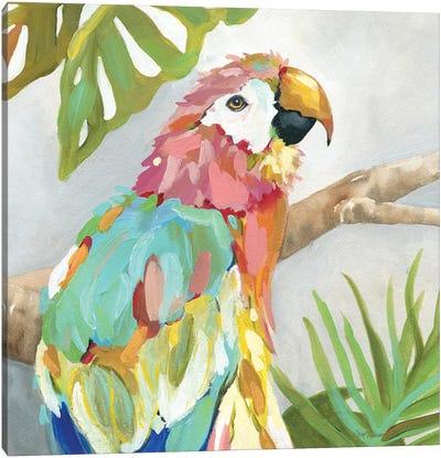 Tropical Plumage Canvas Art Print