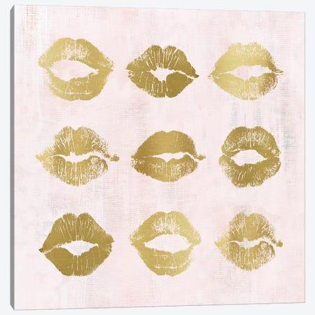 Hot Lips I Canvas Print #CRO1147} by Carol Robinson Canvas Artwork