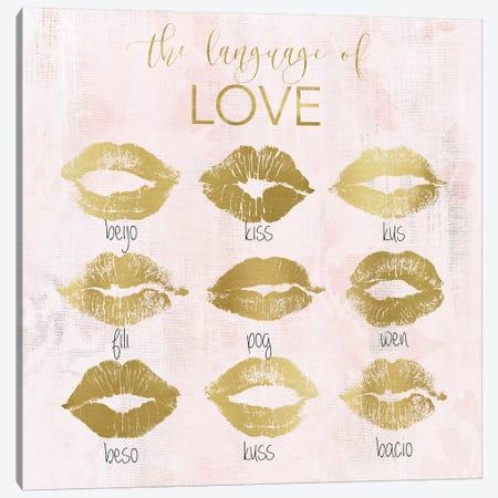 Language of Love Canvas Print #CRO1149} by Carol Robinson Canvas Print