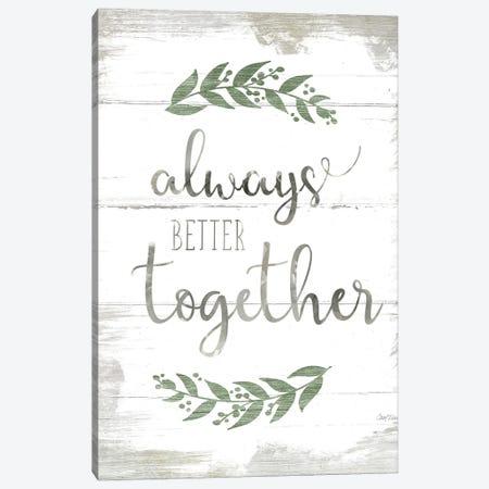 Always Better Together 3-Piece Canvas #CRO1158} by Carol Robinson Canvas Art