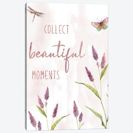 Collect Beautiful Moments Canvas Print #CRO1159} by Carol Robinson Canvas Wall Art