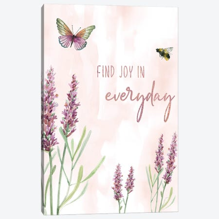 Find Joy Canvas Print #CRO1160} by Carol Robinson Art Print