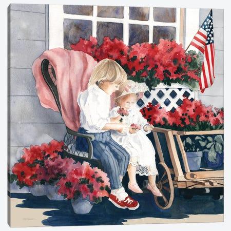 4th of July Parade Canvas Print #CRO1161} by Carol Robinson Canvas Print
