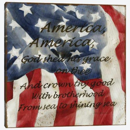 America Canvas Print #CRO1163} by Carol Robinson Canvas Art Print