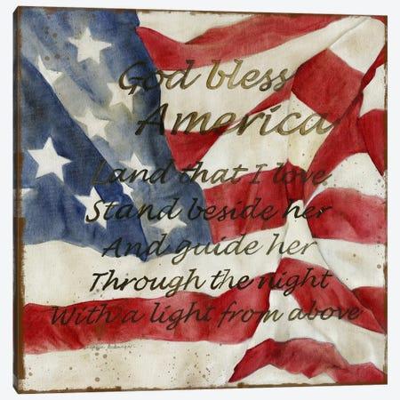 Bless America Canvas Print #CRO1171} by Carol Robinson Canvas Artwork