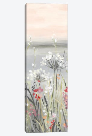 Blushing Wildflowers II Canvas Print #CRO1175} by Carol Robinson Canvas Art Print
