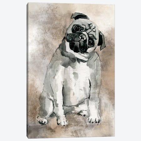 Pug Canvas Print #CRO117} by Carol Robinson Canvas Wall Art