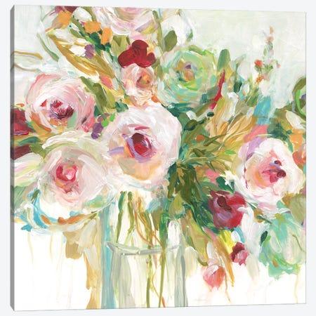 Floral Abandon Canvas Print #CRO1185} by Carol Robinson Canvas Wall Art