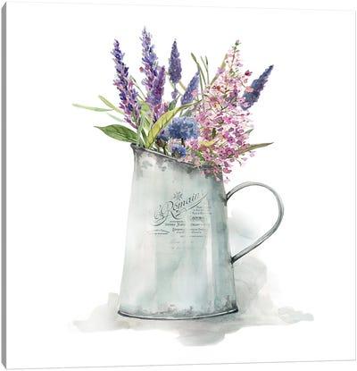French Lavender Canvas Art Print