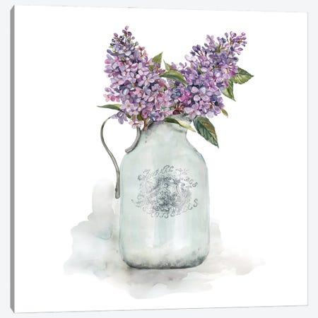 French Lilacs Canvas Print #CRO1187} by Carol Robinson Canvas Art