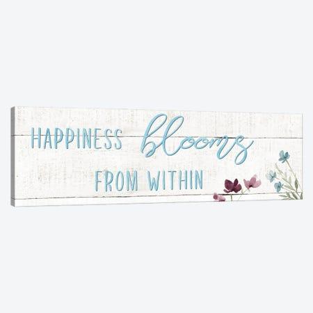 Happiness Blooms Canvas Print #CRO1189} by Carol Robinson Canvas Art Print