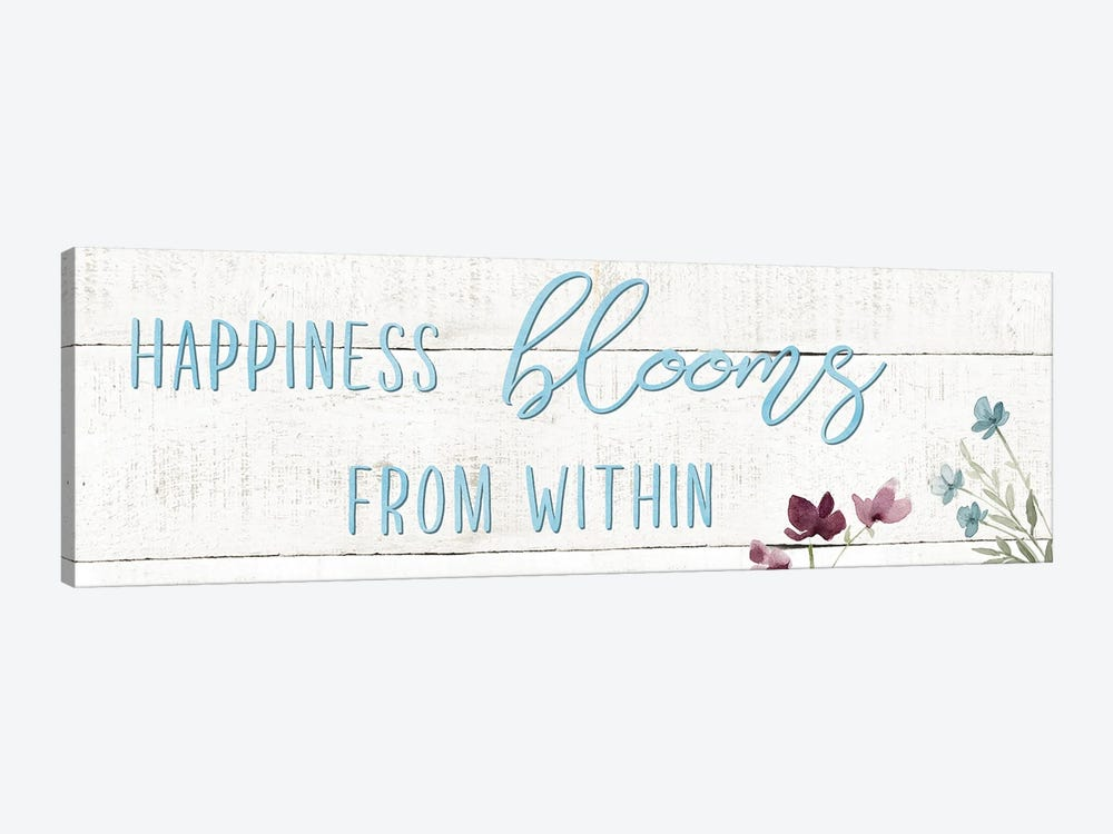 Happiness Blooms by Carol Robinson 1-piece Art Print