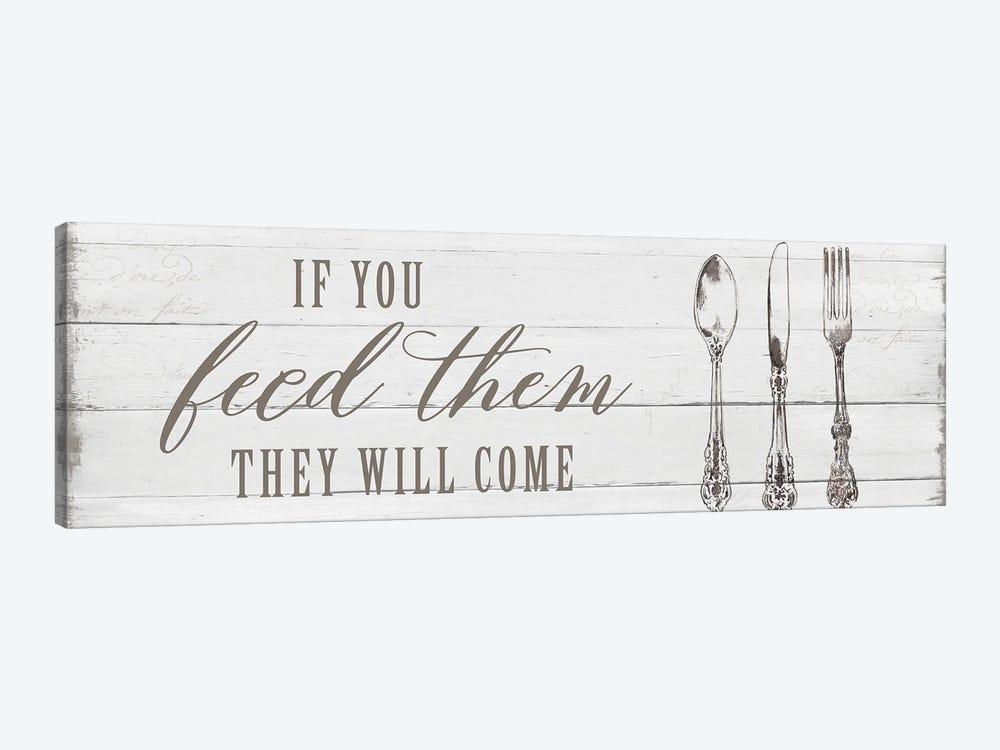 If You Feed Them by Carol Robinson 1-piece Canvas Art