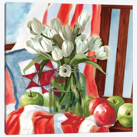 July Tulips Canvas Print #CRO1192} by Carol Robinson Canvas Art