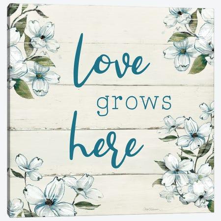 Love Grows Here Canvas Print #CRO1196} by Carol Robinson Canvas Print