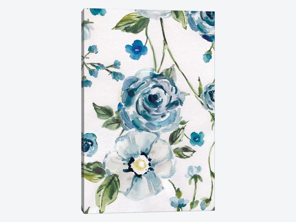 Moonlight Rose Garden II by Carol Robinson 1-piece Canvas Print