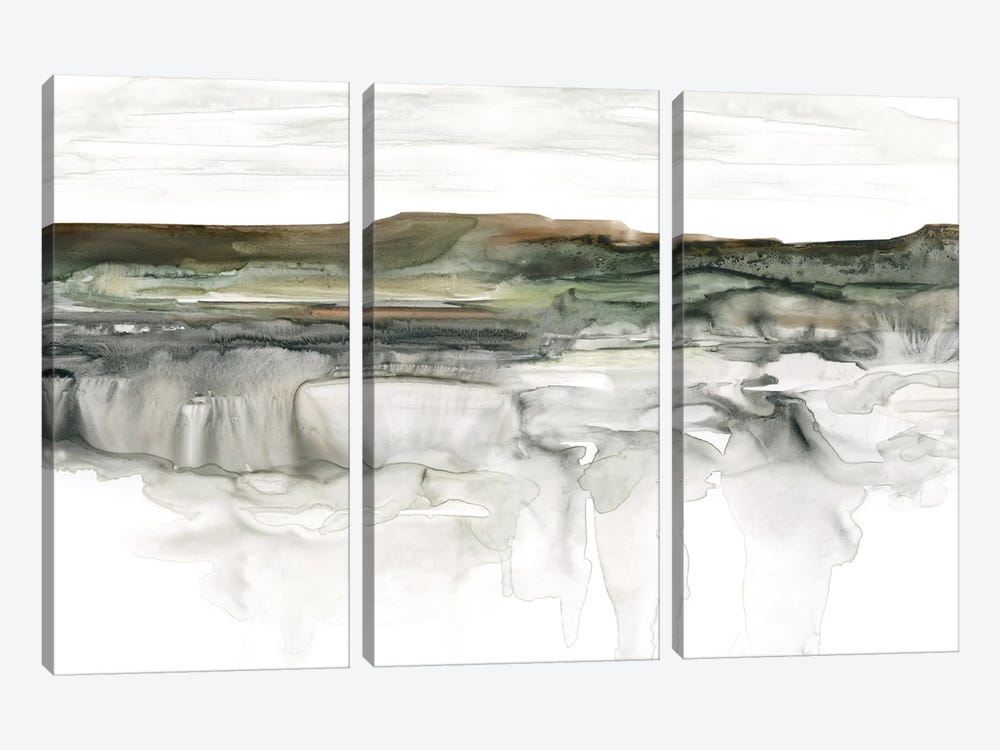 River Flow by Carol Robinson 3-piece Canvas Print