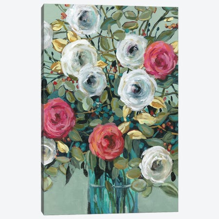 Rose Parade Canvas Print #CRO1204} by Carol Robinson Art Print