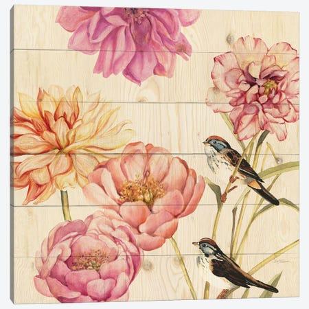 Woodland Sparrows Canvas Print #CRO120} by Carol Robinson Canvas Artwork
