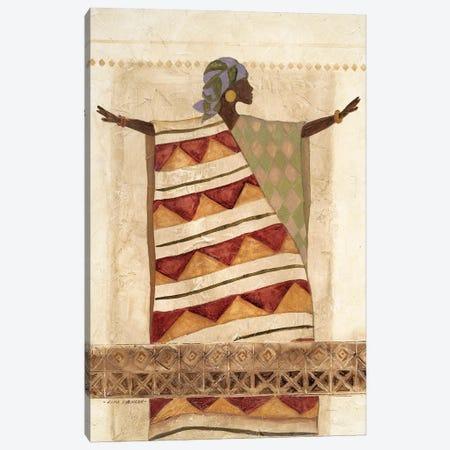 African Beauty I Canvas Print #CRO1220} by Carol Robinson Canvas Art