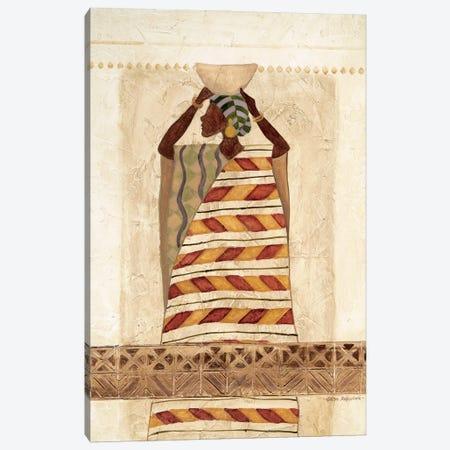 African Beauty II Canvas Print #CRO1221} by Carol Robinson Canvas Artwork