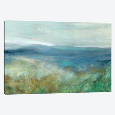 Blue Mountain Overlook Canvas Print #CRO1234} by Carol Robinson Canvas Art
