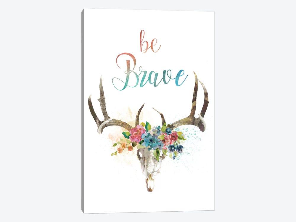 Be Brave by Carol Robinson 1-piece Canvas Art Print
