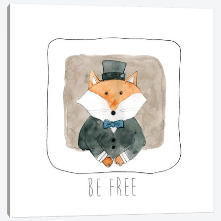 Be Free Canvas Print #CRO124} by Carol Robinson Canvas Print