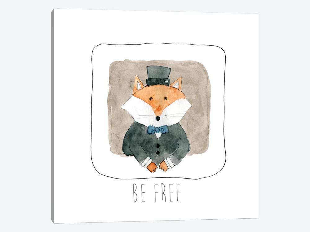 Be Free by Carol Robinson 1-piece Canvas Wall Art
