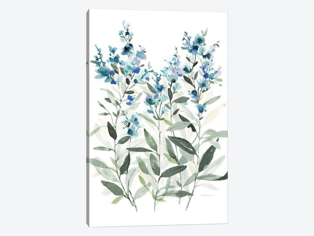 Delicate Blue Botanical II by Carol Robinson 1-piece Canvas Artwork