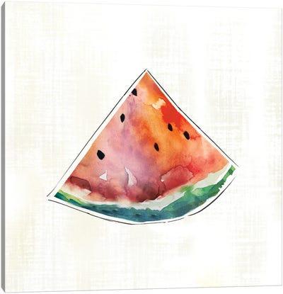 Happy Melon Canvas Art Print