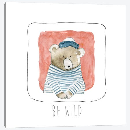 Be Wild Canvas Print #CRO126} by Carol Robinson Canvas Print