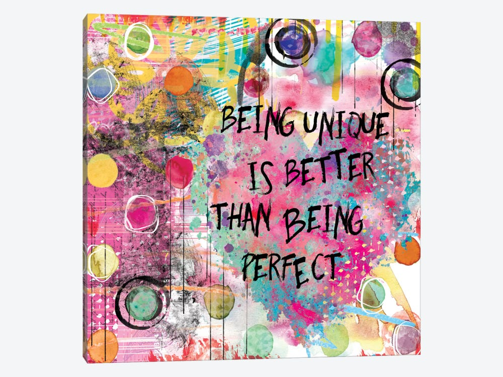 Being Unique by Carol Robinson 1-piece Canvas Art Print