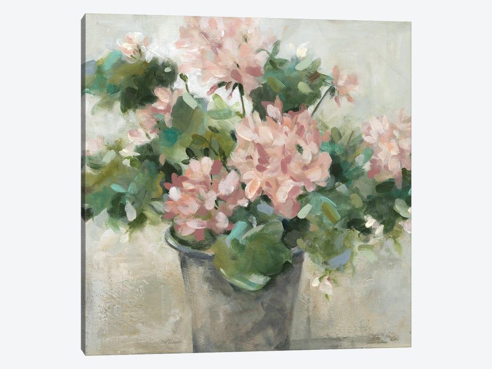 Potted Geranium by Carol Robinson 1-piece Canvas Art