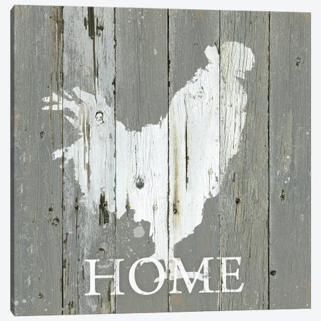 Rooster Home Canvas Print #CRO1290} by Carol Robinson Art Print