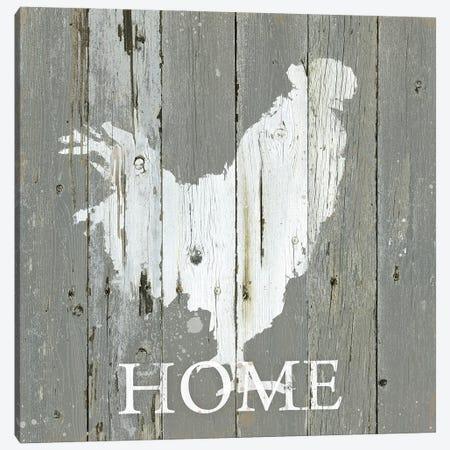 Rooster Home Canvas Print #CRO1290} by Carol Robinson Art Print