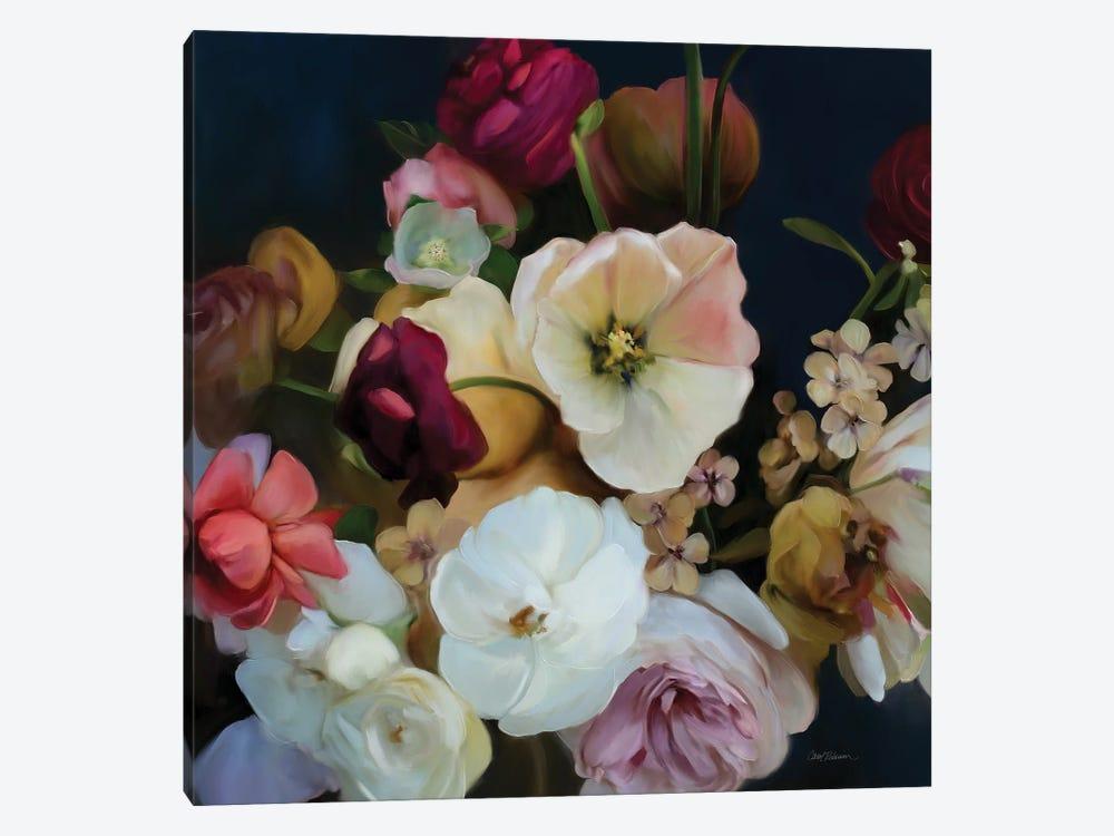 Royal Bouquet by Carol Robinson 1-piece Canvas Wall Art