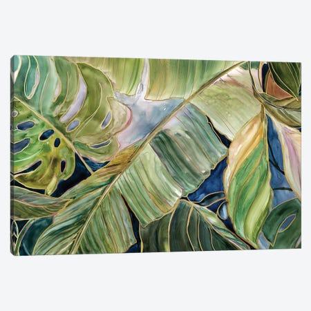 Sun Tipped Tropicals Canvas Print #CRO1300} by Carol Robinson Art Print