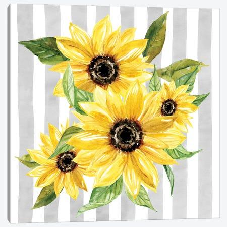 Sunflower Array I Canvas Print #CRO1301} by Carol Robinson Art Print