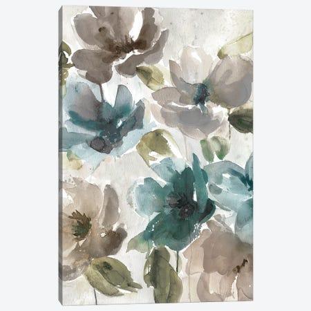 Topaz Garden I Canvas Print #CRO1309} by Carol Robinson Art Print