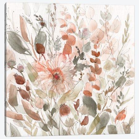 Wild Blush Garden Canvas Print #CRO1313} by Carol Robinson Canvas Wall Art
