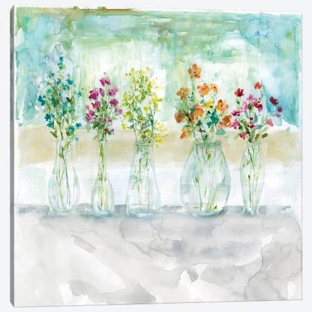 Color Wash Bouquet Canvas Print #CRO136} by Carol Robinson Canvas Wall Art
