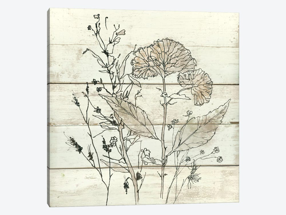Dried Flower Study I 1-piece Canvas Artwork