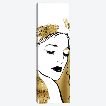 Fashion Girl I Canvas Print #CRO141} by Carol Robinson Canvas Wall Art