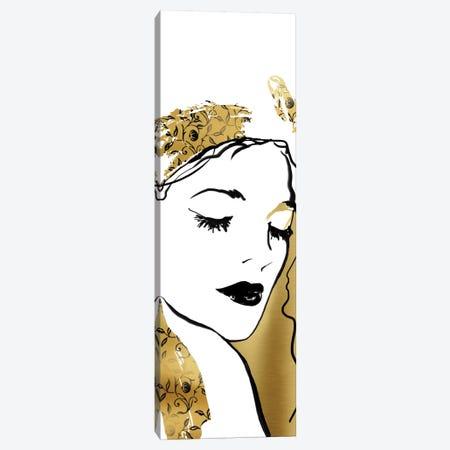 Fashion Girl I Canvas Print #CRO141} by Carol Robinson Canvas Wall Art