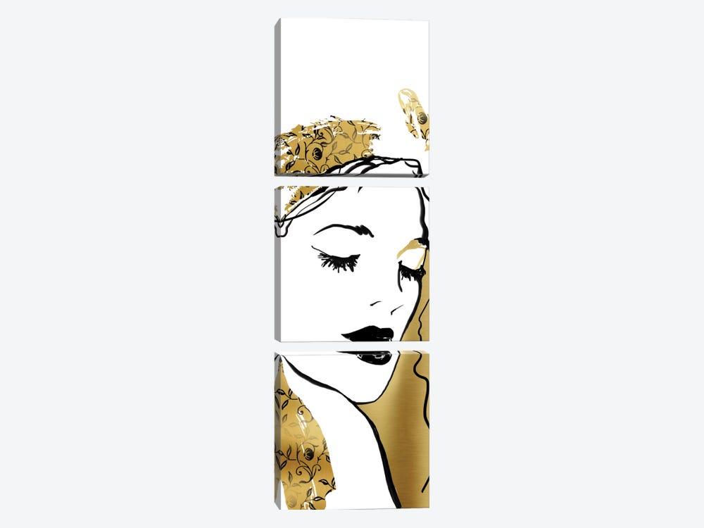 Fashion Girl I by Carol Robinson 3-piece Canvas Print