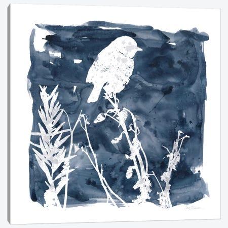 Indigo Bird I Canvas Print #CRO150} by Carol Robinson Canvas Print